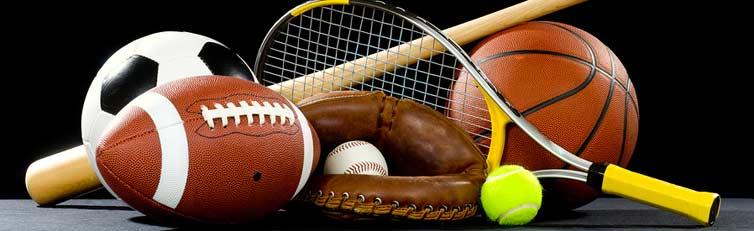 sporto prekes